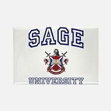 SAGE University Rectangle Magnet