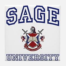 SAGE University Tile Coaster