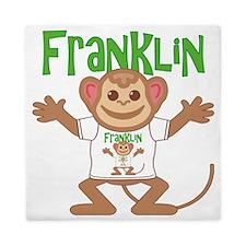 franklin-b-monkey Queen Duvet