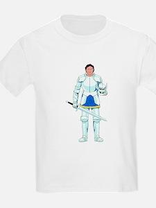 Knight in Armor Kids T-Shirt