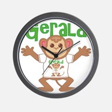 gerald-b-monkey Wall Clock