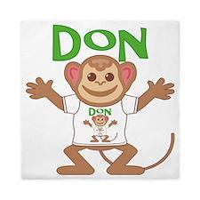 don-b-monkey Queen Duvet