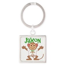 jaxon-b-monkey Square Keychain