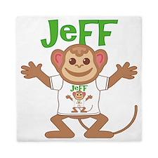 jeff-b-monkey Queen Duvet