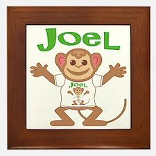 joel-b-monkey Framed Tile