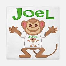 joel-b-monkey Queen Duvet