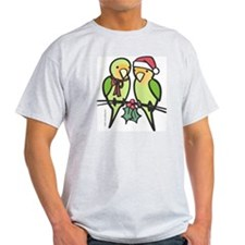 lovebirds_santa T-Shirt