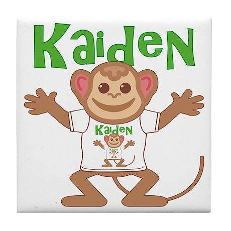 kaiden-b-monkey Tile Coaster