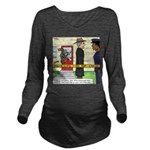 Open and Shut Case Long Sleeve Maternity T-Shirt