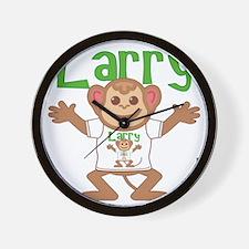 larry-b-monkey Wall Clock