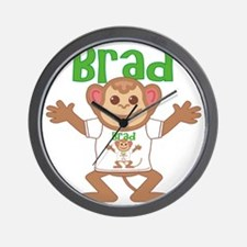 brad-b-monkey Wall Clock
