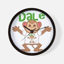 dale-b-monkey Wall Clock