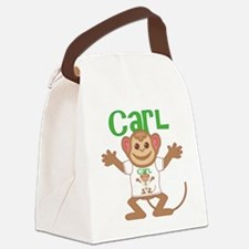 carl-b-monkey Canvas Lunch Bag