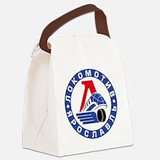 Lokomotive round Canvas Lunch Bag