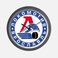 Lokomotive round Wall Clock