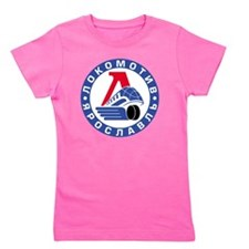 Lokomotive round Girl's Tee