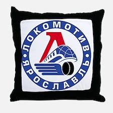 Lokomotive round Throw Pillow