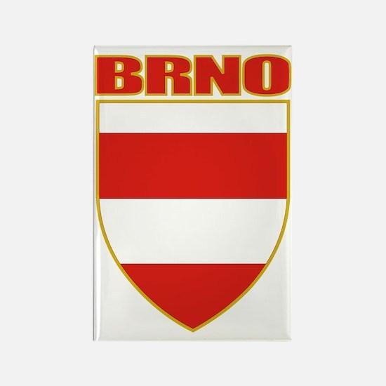 Brno COA (gold) Rectangle Magnet
