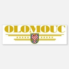 Olomouc COA (Flag 10) pocket Bumper Bumper Sticker