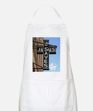 6774 Jesus Sign Apron
