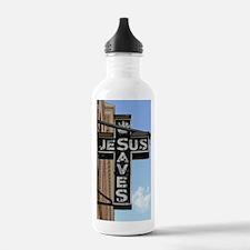 6774 Jesus Sign Water Bottle