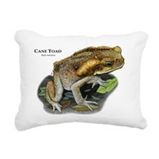 Cane Toad Rectangular Canvas Pillow