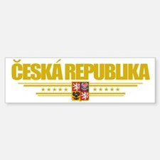 Czech Republic (Flag 10) pocket Bumper Bumper Sticker