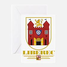 Liberec COA (Flag 10) Greeting Card