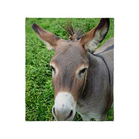 6604 Mule 2 Throw Blanket