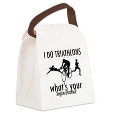 triathlons Canvas Lunch Bag