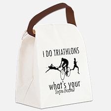 triathlons Canvas Lunch Bag