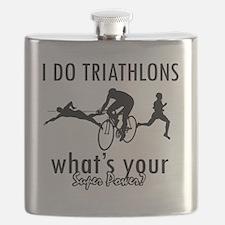 triathlons Flask