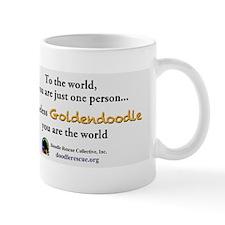 ToTheWorldGoldendoodle Mug