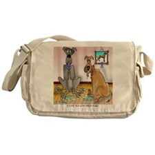 5398_dog_cartoon_PW Messenger Bag
