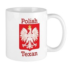 Polish Texan White Eagle Mug