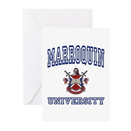 MARROQUIN University Greeting Cards (Pk of 10)