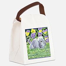 spencer525tile Canvas Lunch Bag
