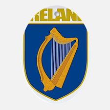 Ireland COA Oval Ornament