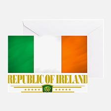 Republic of Ireland (Flag 10) Greeting Card