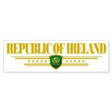 Republic of Ireland (Flag 10) poc Bumper Sticker