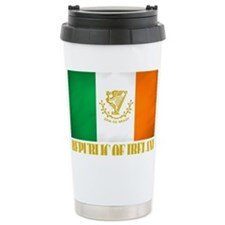 Republic of Ireland Flag (erin) Travel Mug