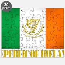 Republic of Ireland Flag (erin) Puzzle