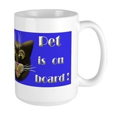 Pet on board Mug