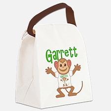 garrett-b-monkey Canvas Lunch Bag