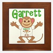 garrett-b-monkey Framed Tile