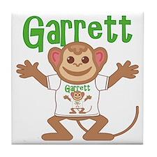 garrett-b-monkey Tile Coaster