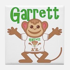 garrett-b-monkey Tile Coaster