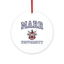 MARR University Ornament (Round)