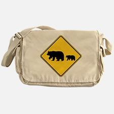 Bears Messenger Bag