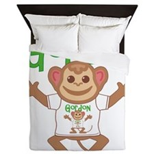 gordon-b-monkey Queen Duvet